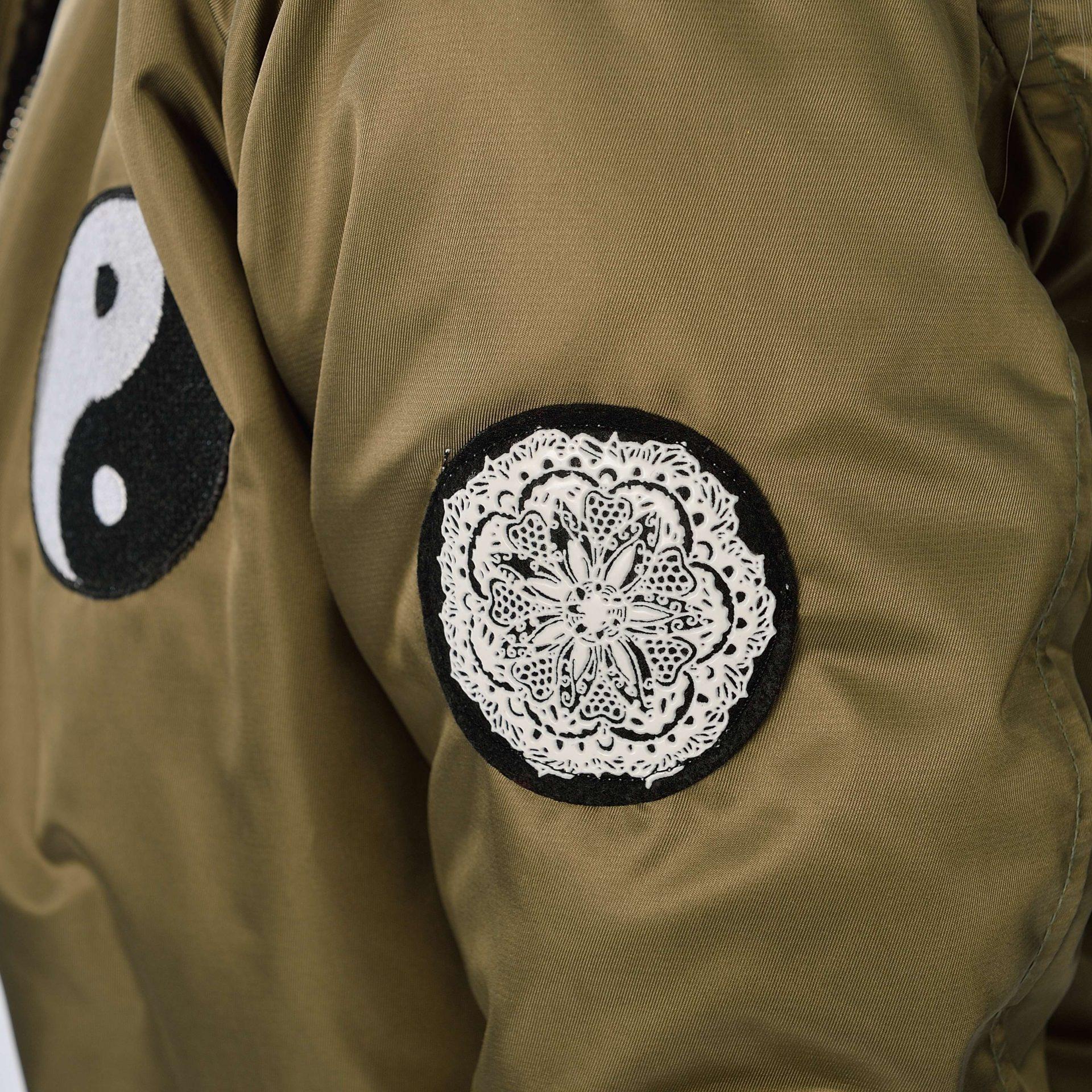 Yin Yang Bomber Jacket Men