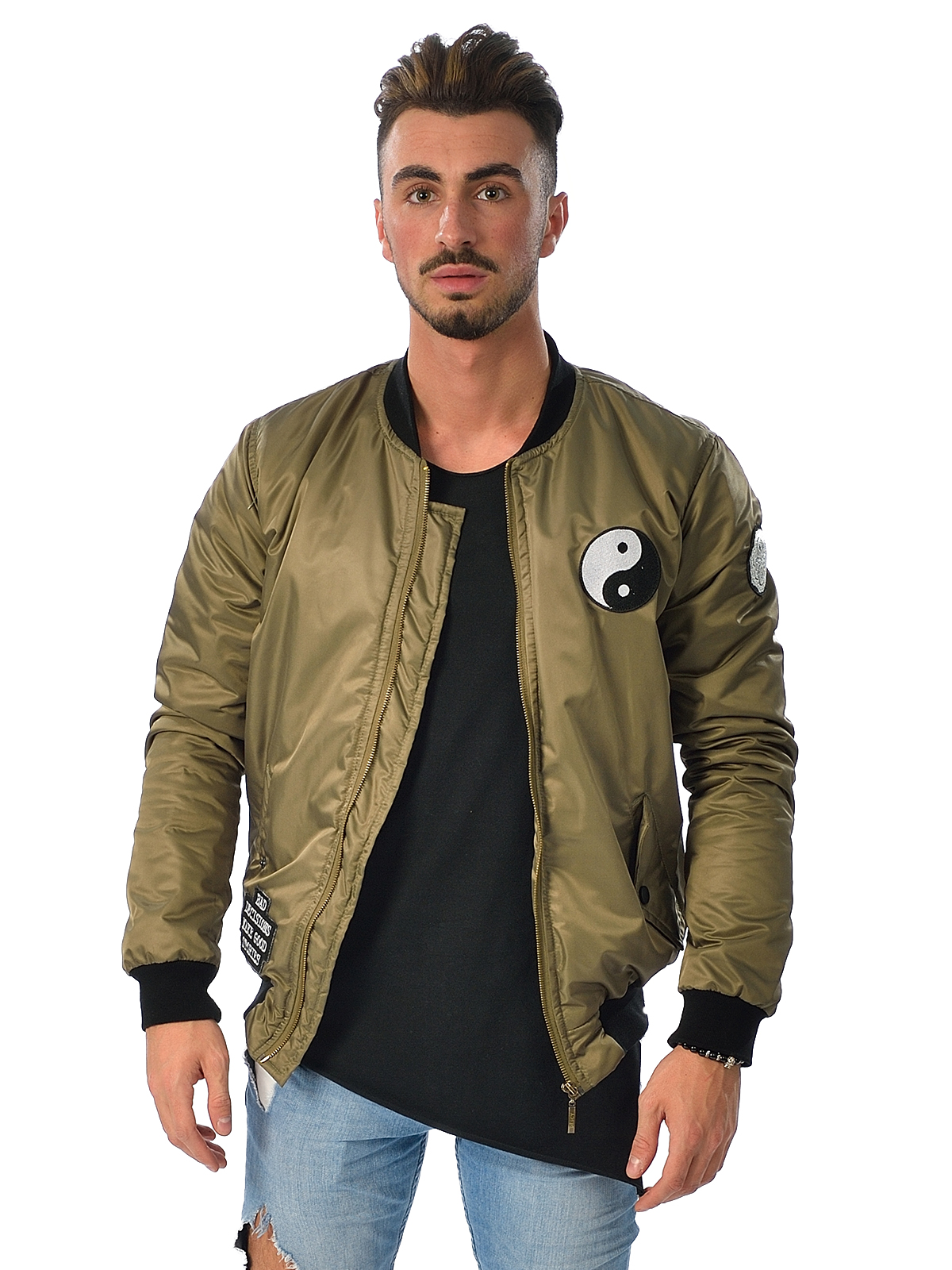 Yin Yang Bomber Jacket Men | Descy Official