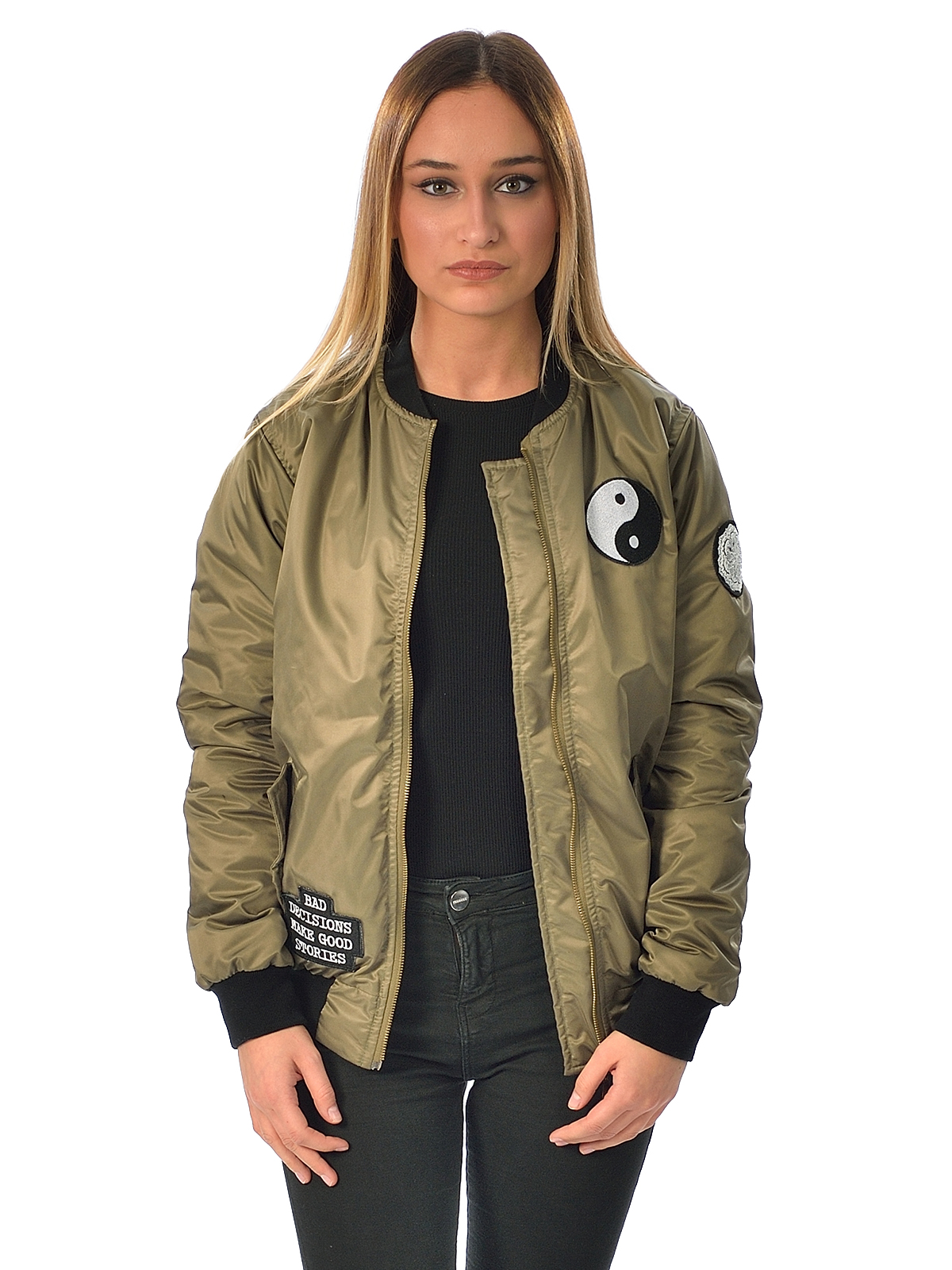 Yin Yang Bomber Women | Descy Official