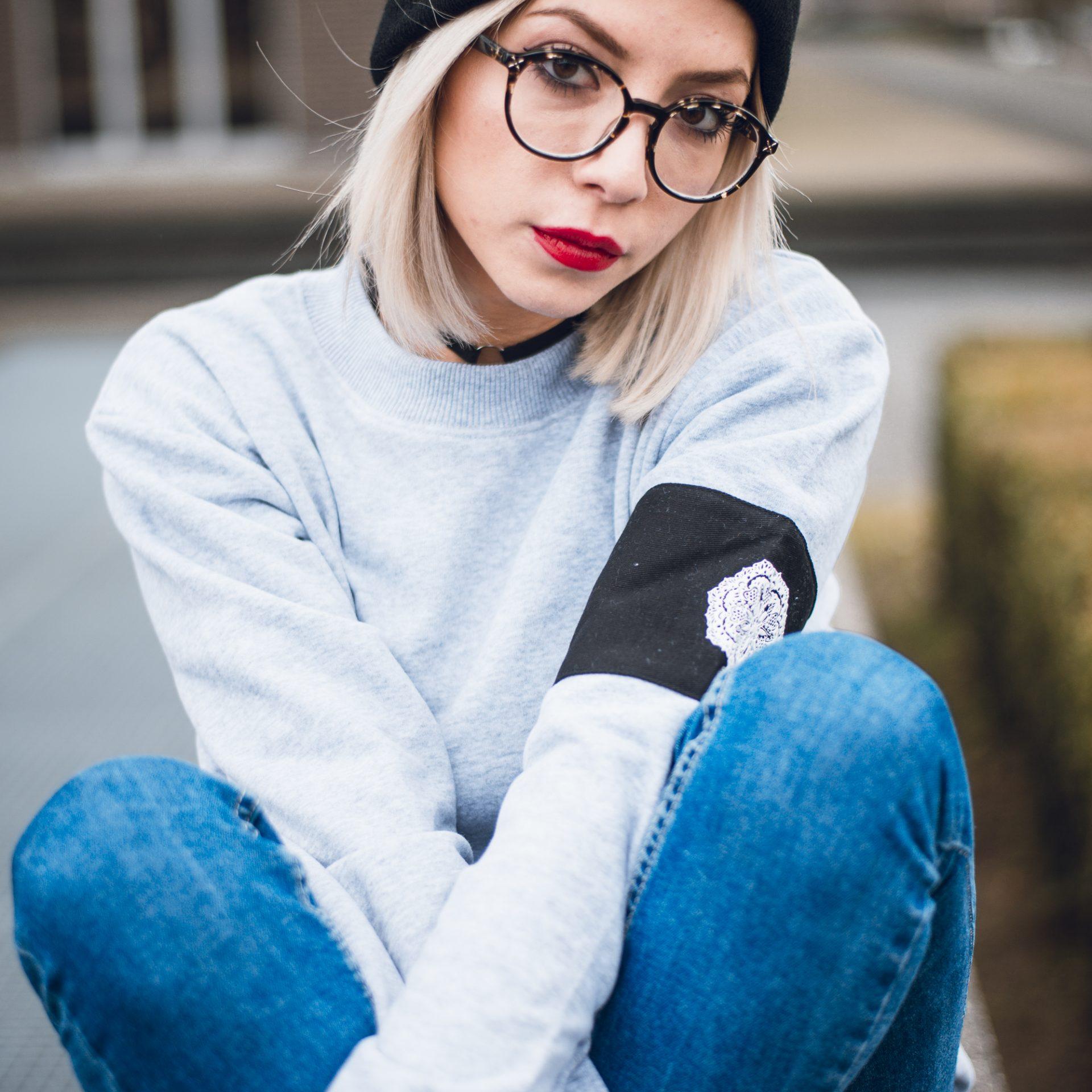 Grey Captain Couple Sweaters