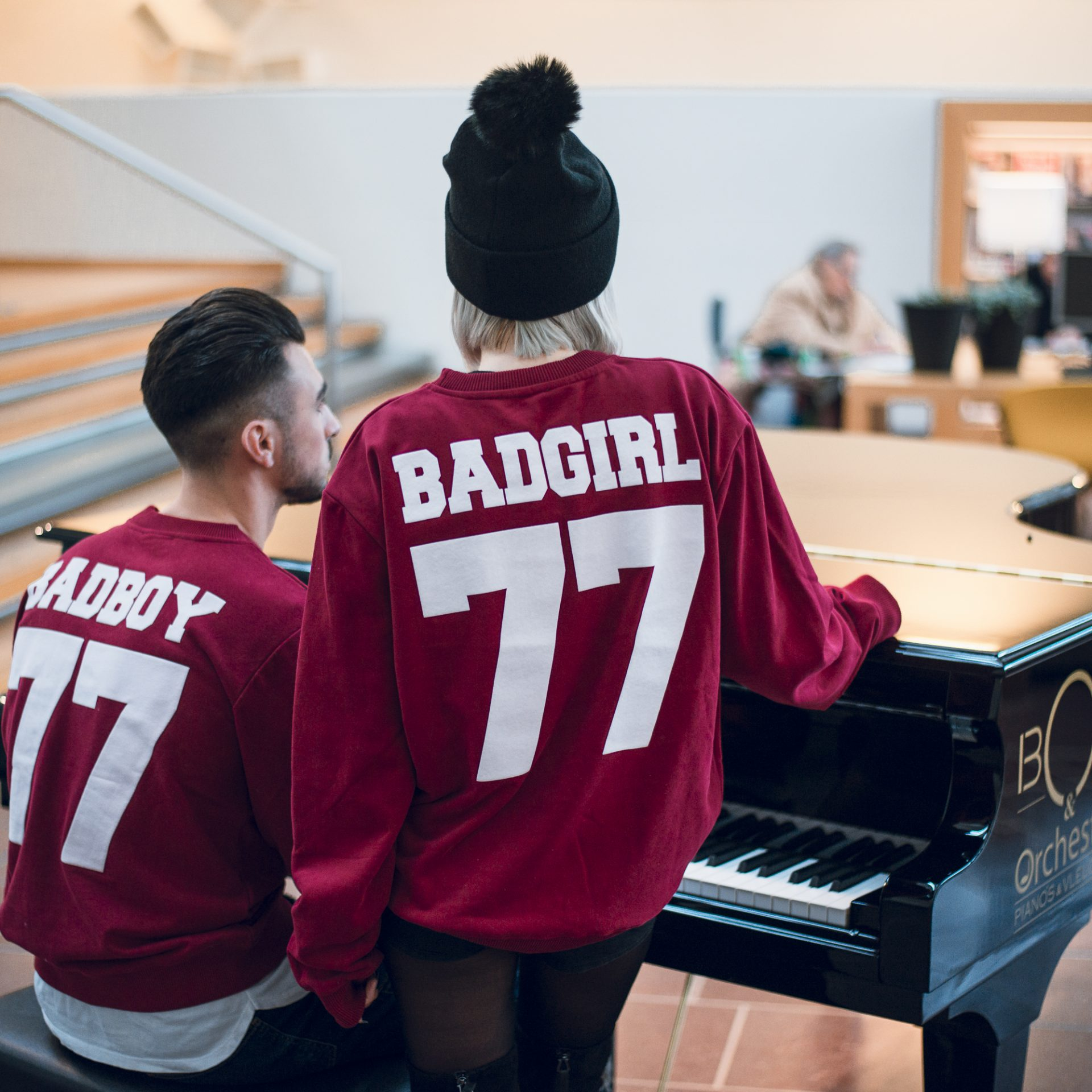 BADBOY BADGIRL COUPLE SWEATERS
