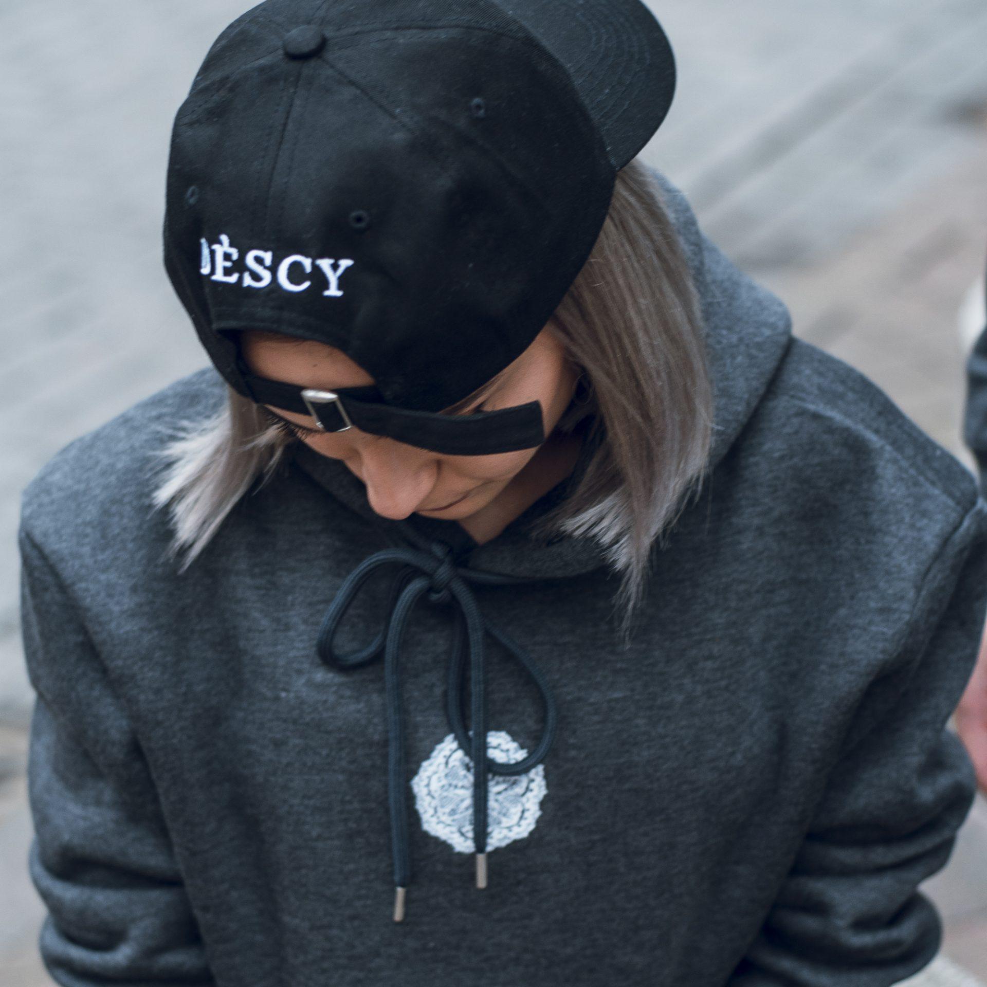 Black DESCY Baseball Cap