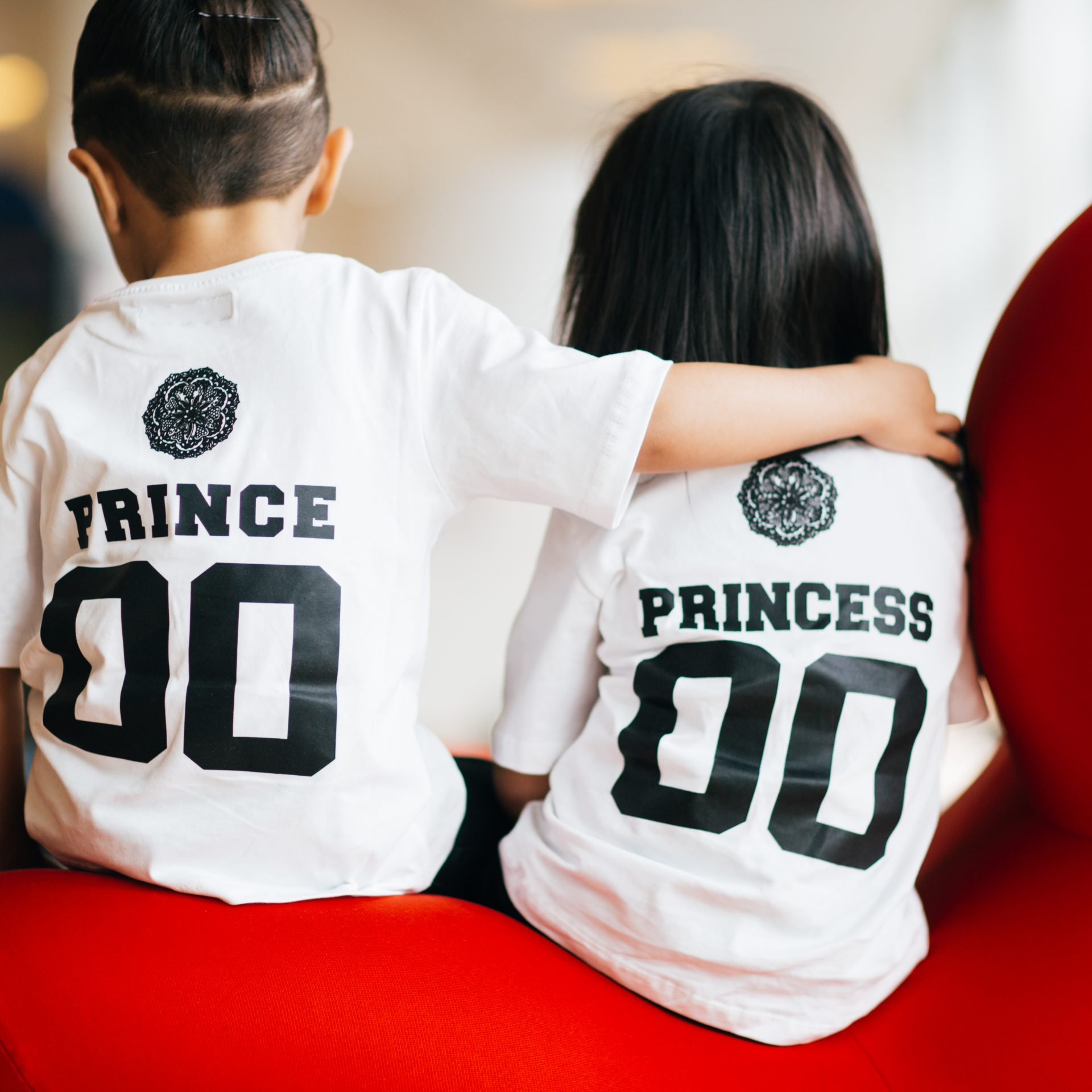 Princess Girl T-Shirt White