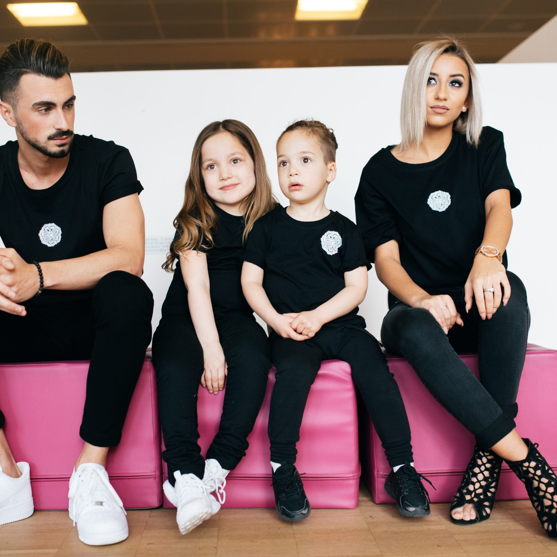 Princess Girl T-Shirt Black
