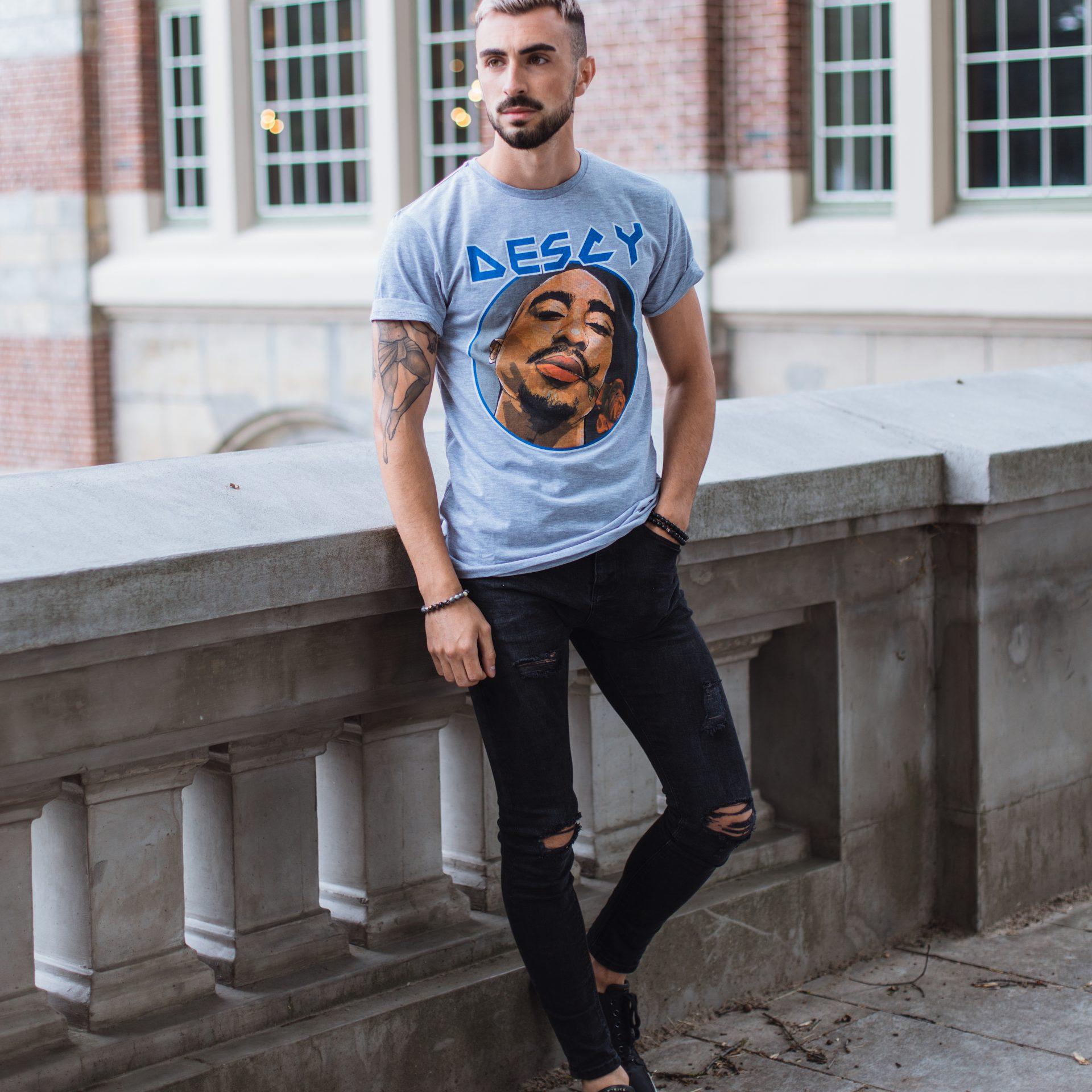Tupac T-Shirt Black Unisex