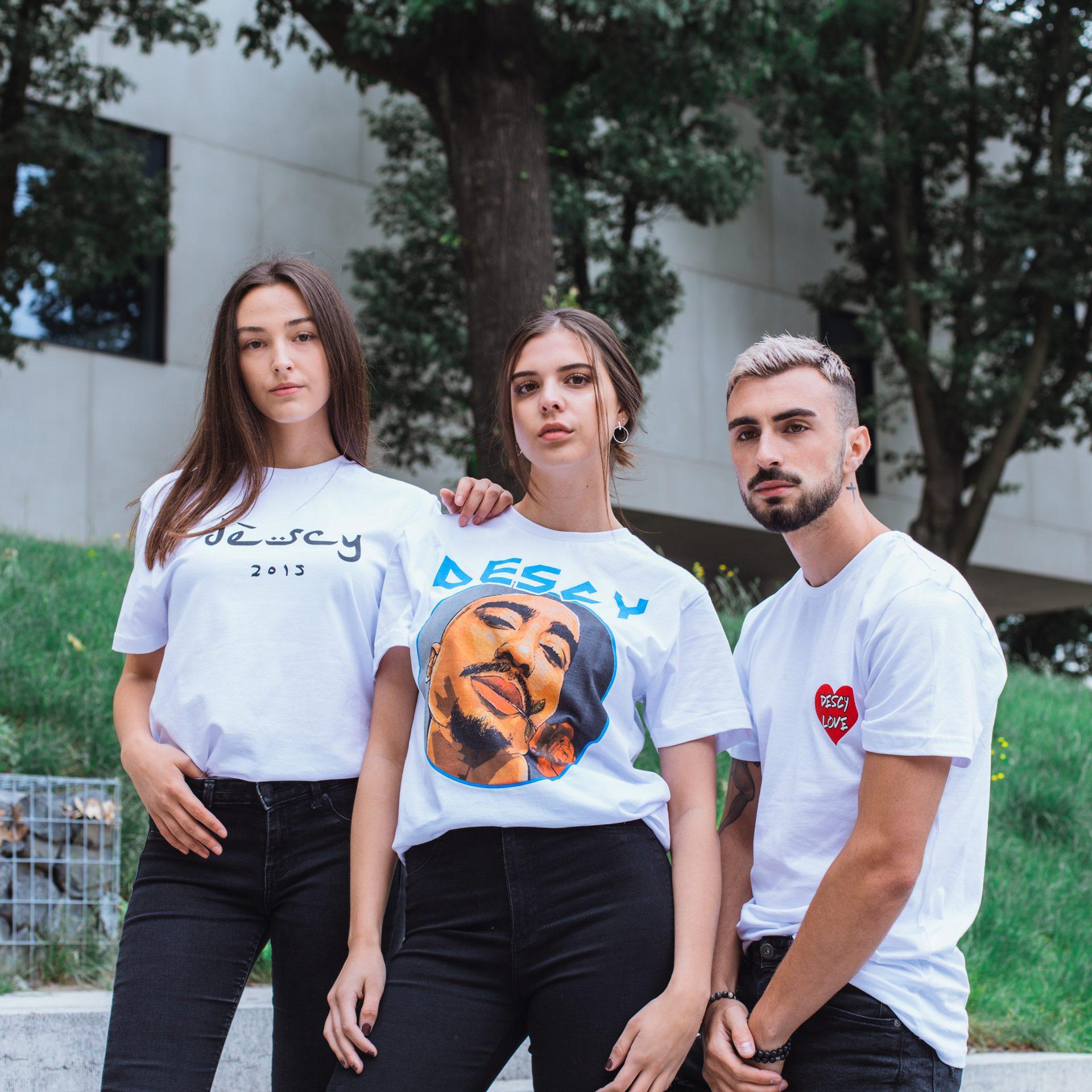Tupac T-Shirt White Unisex
